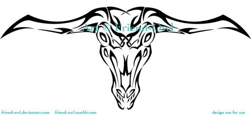 Capra Demon Tattoo by FriendOwlDesign