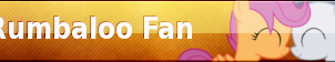 Rumbaloo Fan Button by Loaded--Dice