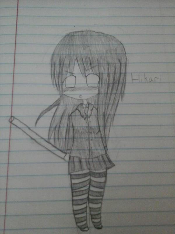 Hikari-chan by tackytuesday