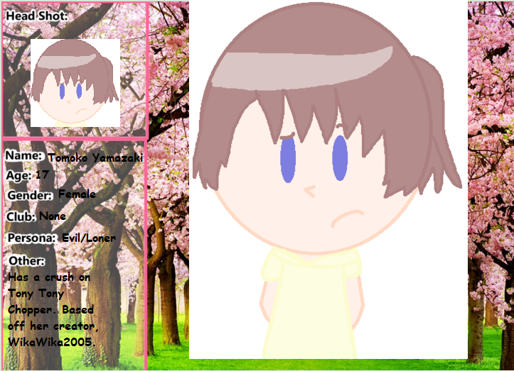 Yamazaki Tomoko by tackytuesday