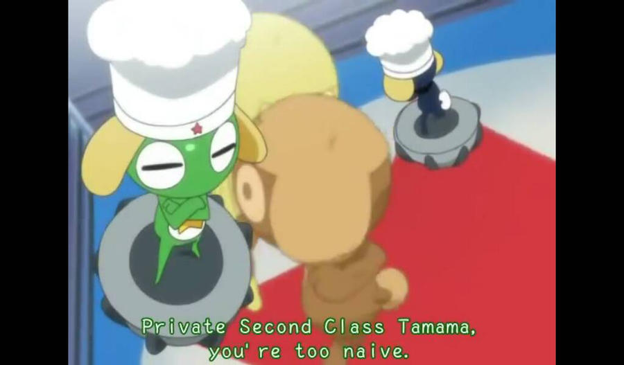 Tamama x Keroro 161 by tackytuesday