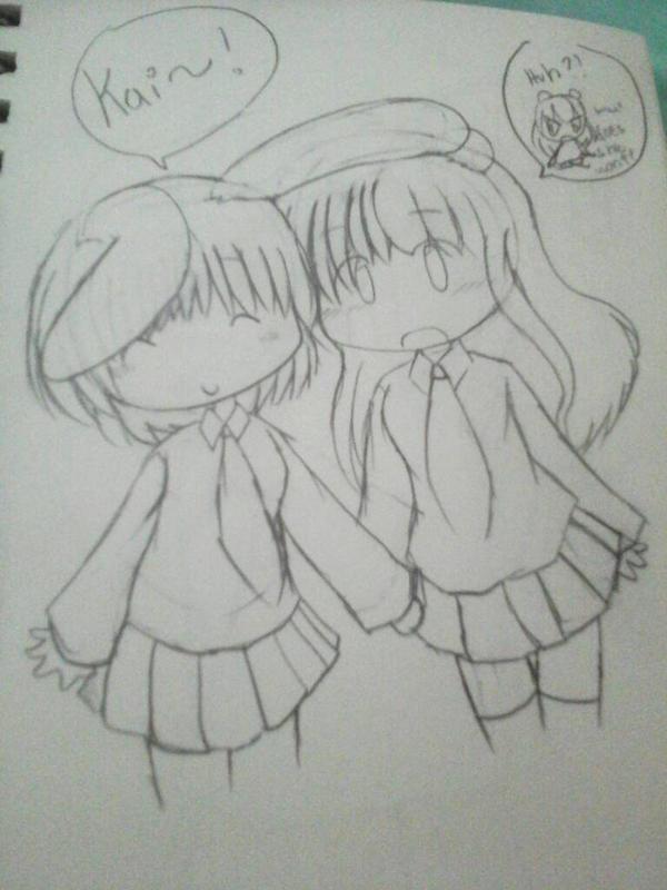 Aino and Kai by tackytuesday