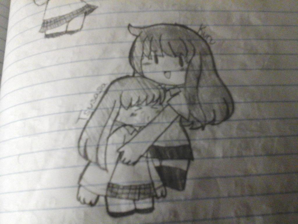 Tsusasa and Kuru by tackytuesday