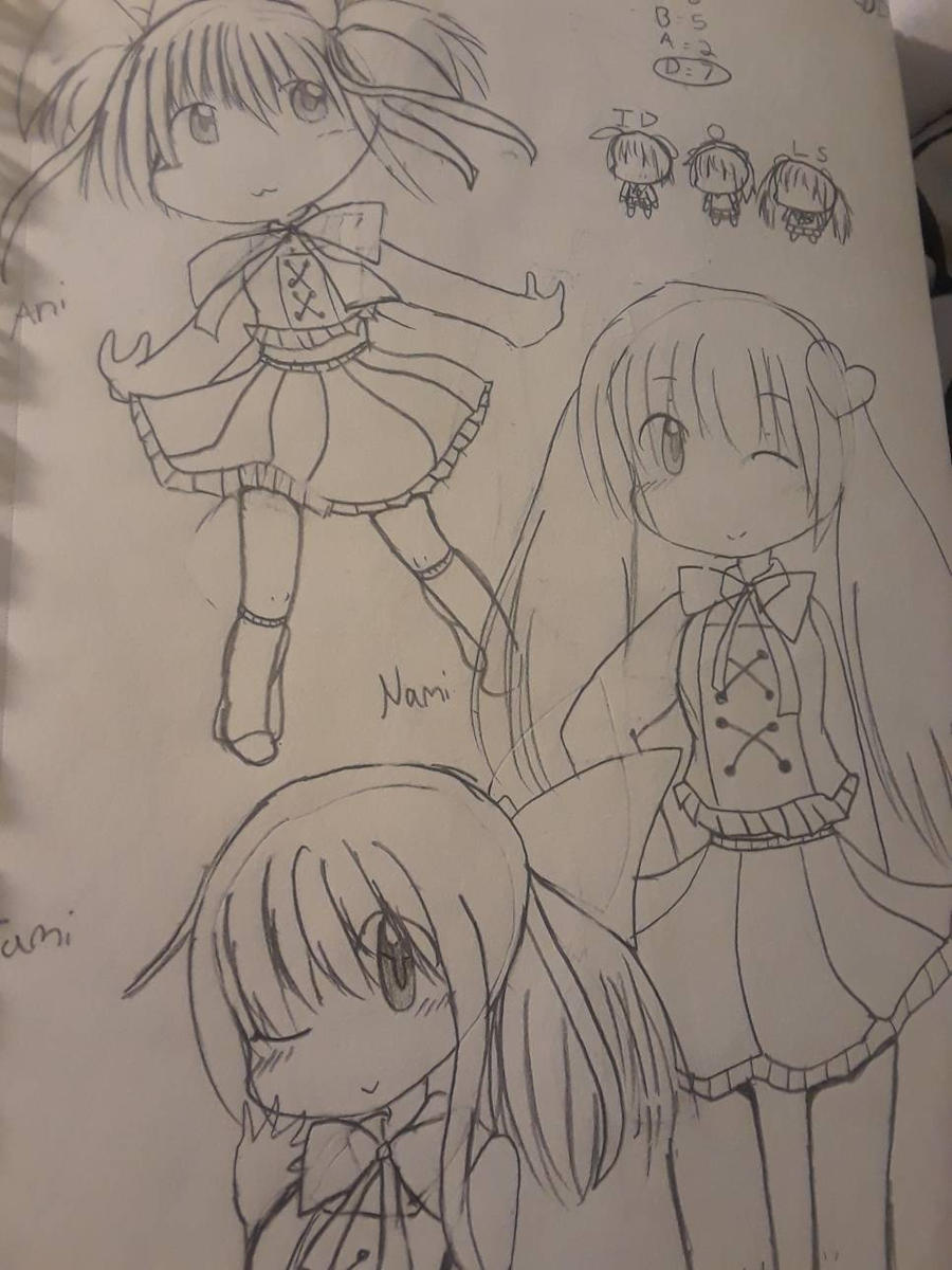 Aino, Tamae and Naomi are idols by tackytuesday