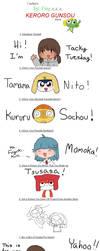 Keroro Gunsou Meme by tackytuesday