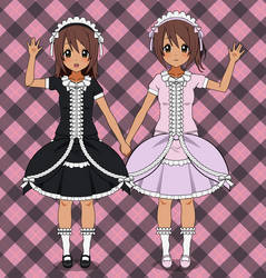 Two Little Lolitas by tackytuesday