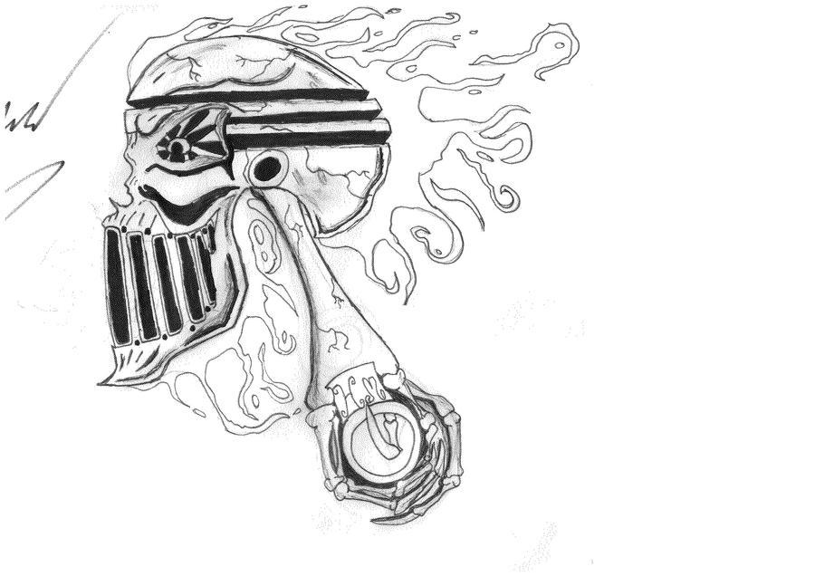 skull piston by vauhn on deviantart. Black Bedroom Furniture Sets. Home Design Ideas