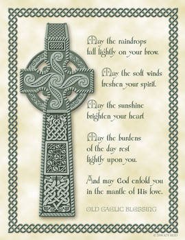 Celtic Cross and Blessing