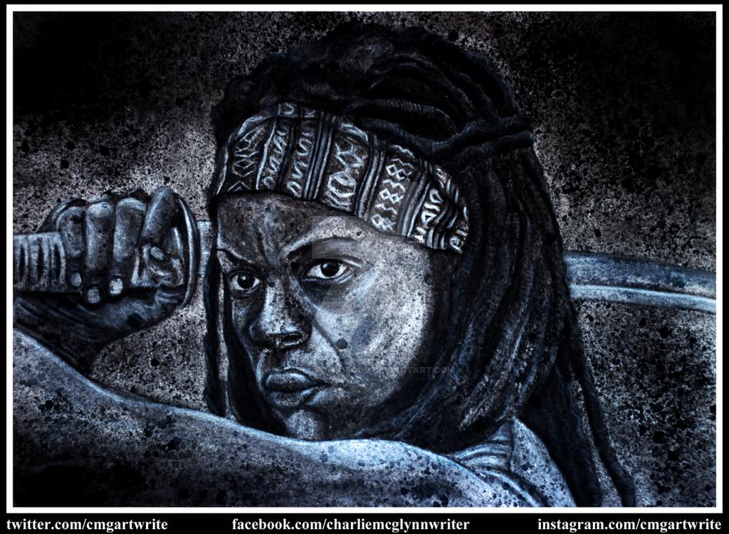 Michonne by CarlosOscuroDC