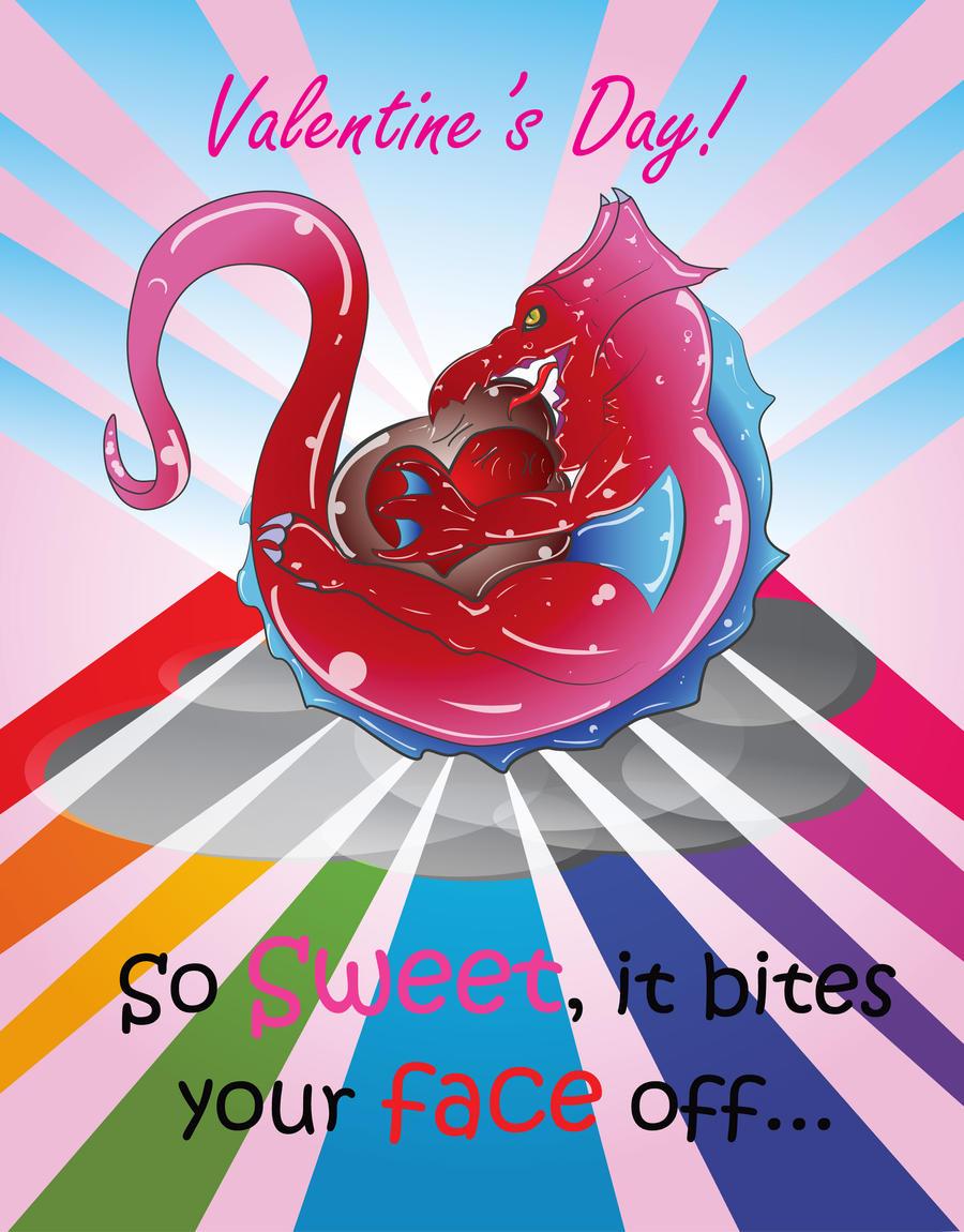 Schön Valentineu0027s Day Bubble Chocolate Dragon By LolittaL33T Valentineu0027s Day  Bubble Chocolate Dragon By LolittaL33T