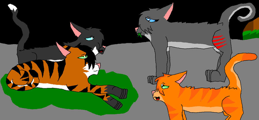 Cinderpelt And Littlecloud