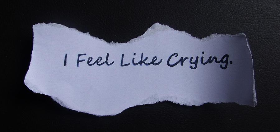 Feel like crying by sweetlemmon