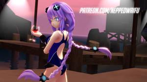 Swimsuit Purple Heart