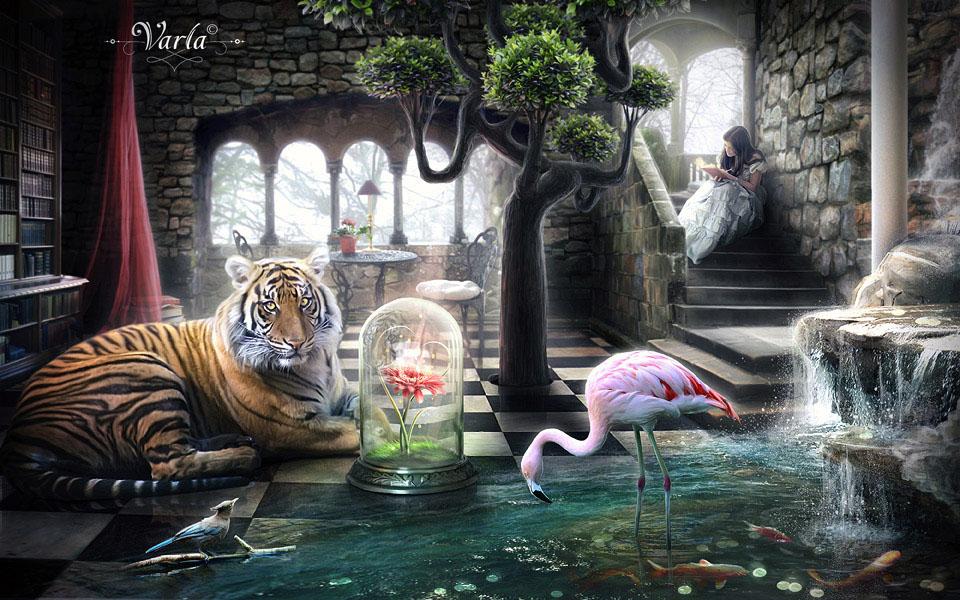 A Secret Place by VarLa-art