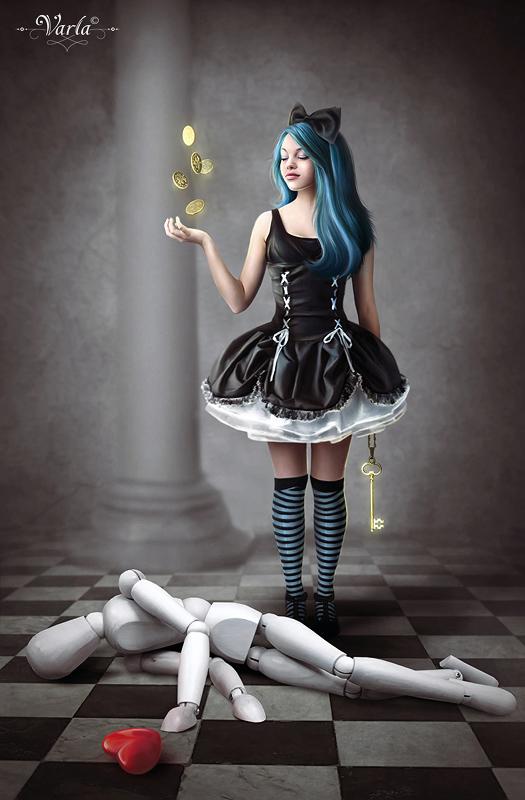 Malvina by VarLa-art