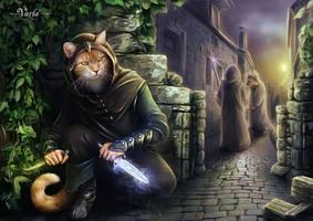 The Assassin by VarLa-art