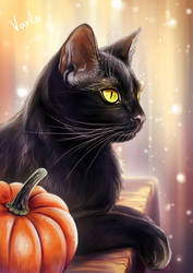 cat_3 by VarLa-art