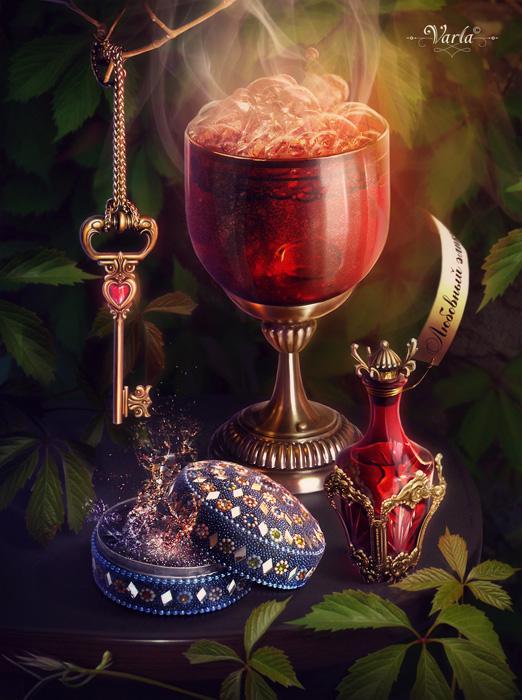 Elixir of Love by VarLa-art