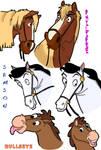 Disney Horses Colored 1