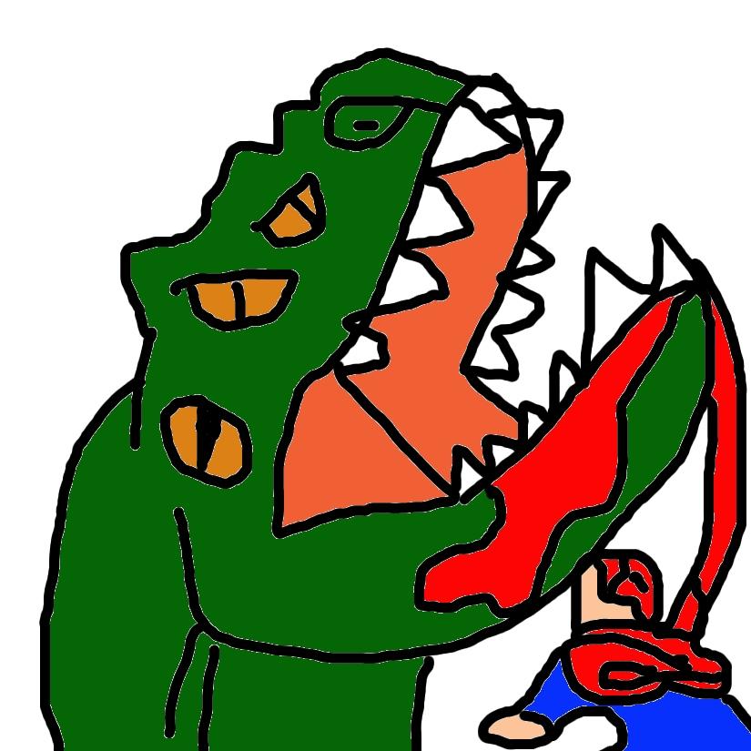 killer papo:rex alien by Barytyrannus
