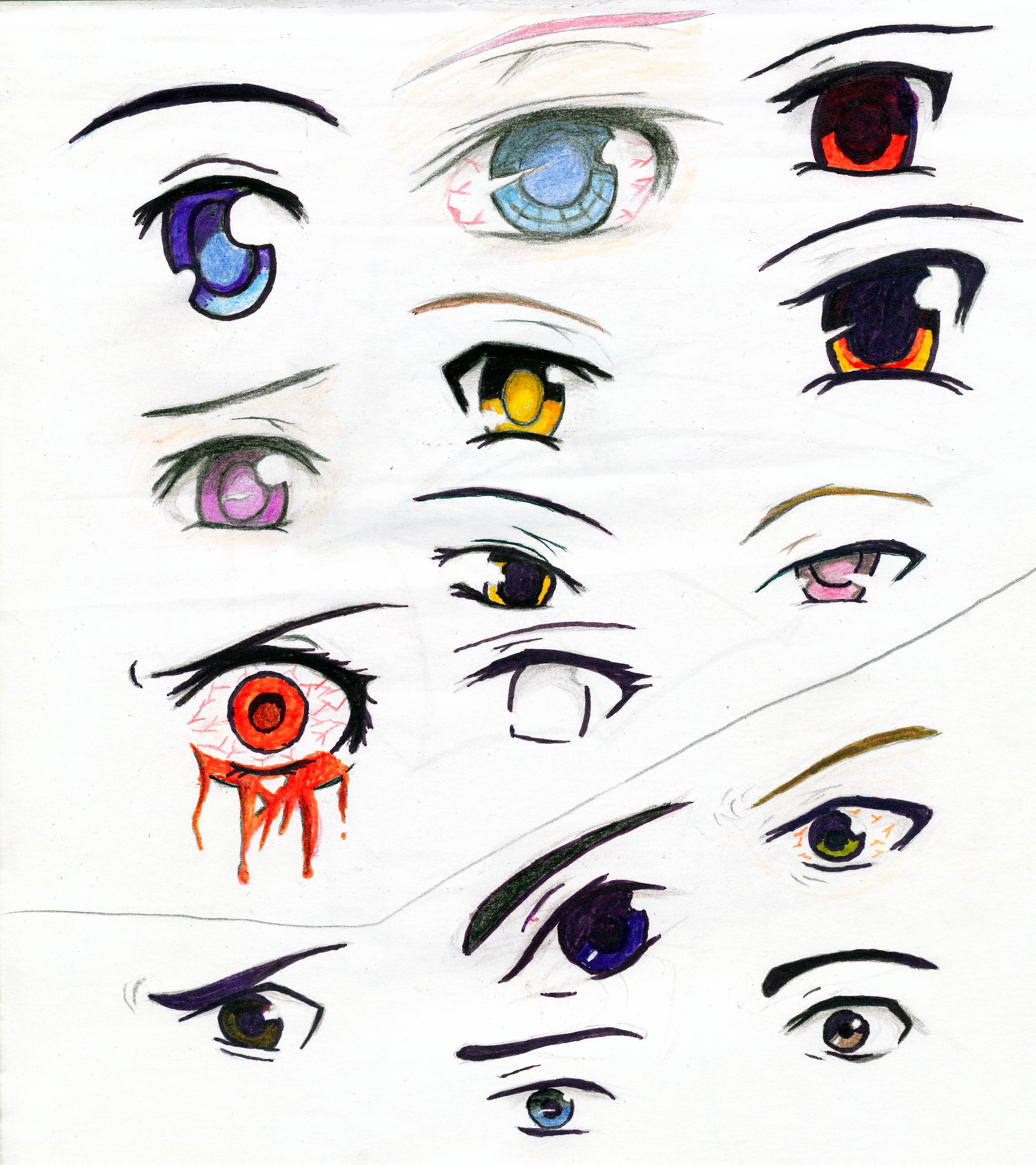 Anime Augen by Erik-Senpai on DeviantArt