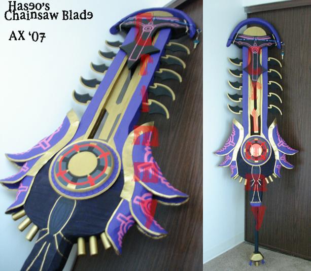 Chainsaw Blade by crimsonyoukai