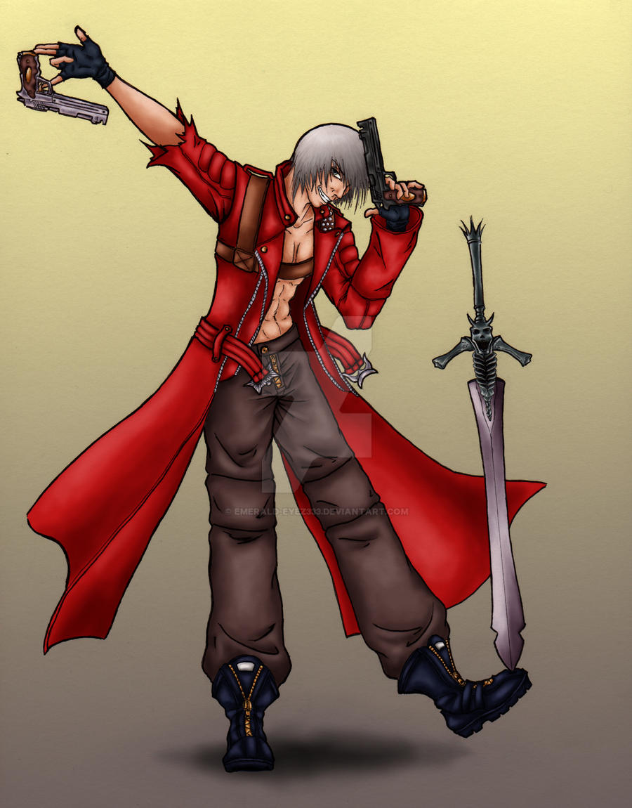 :Second Son of Sparda: by emerald-eyez333
