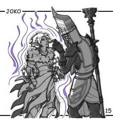 Inktober 15 - Joko's Grip by emerald-eyez333