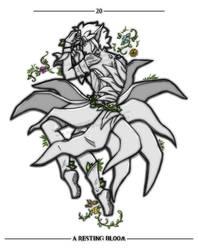 Inktober 20 - Bloom by emerald-eyez333