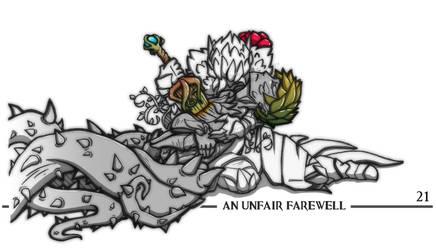Inktober 21 - An Unfair Farewell by emerald-eyez333