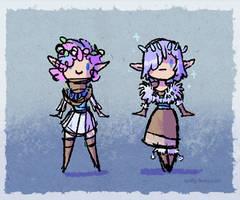 Spring / Winter Eladrin - Bluebell