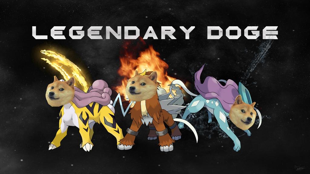 Legendary Doge Original By Mediacriggz Swornbrother1