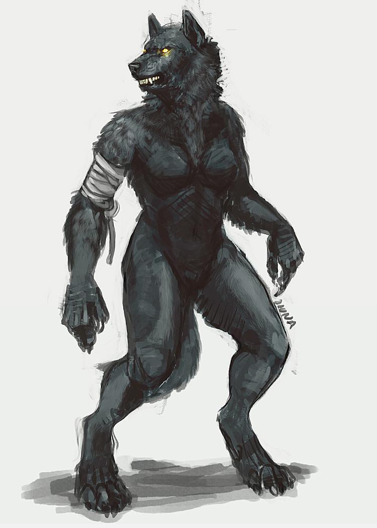 Shewolf by GwenUchoa