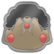 Eruption Badge by Pokemon-Mento