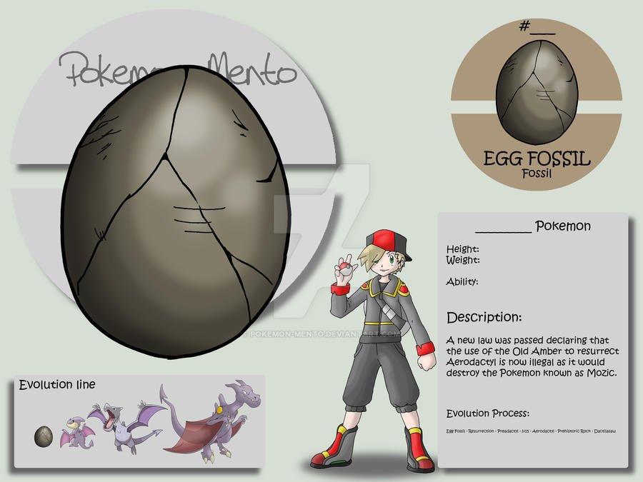 Egg Fossil by Pokemon-Mento