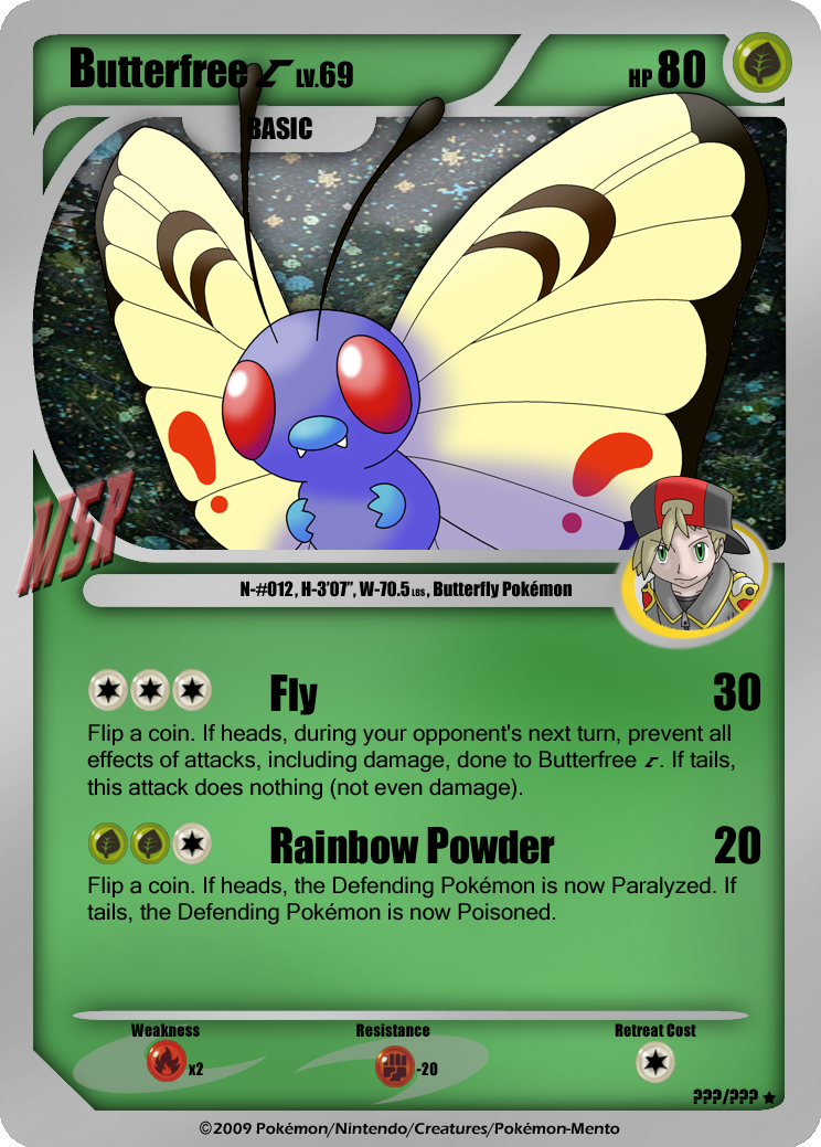 Butterfree C - Card by...