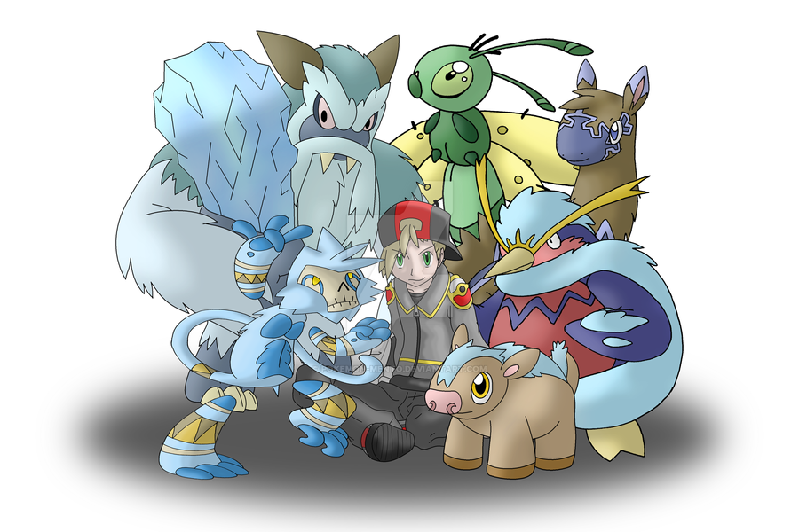 My ice type team by pokemon mento on deviantart my ice type team by pokemon mento sciox Gallery