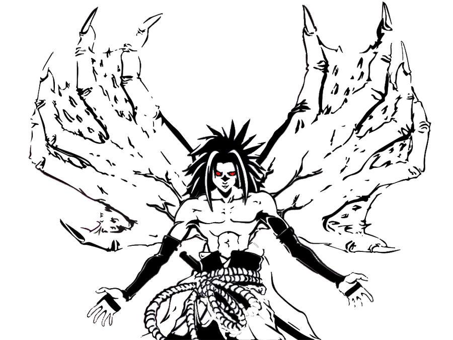Naruto Different Curse Marks curse mark sasuke