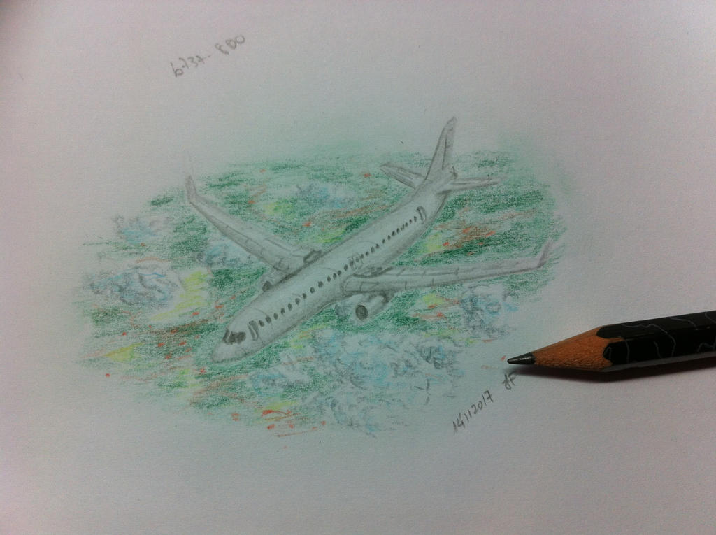 Tiny drawing of a Boeing 737-800 by JoaoDaFonseca on DeviantArt