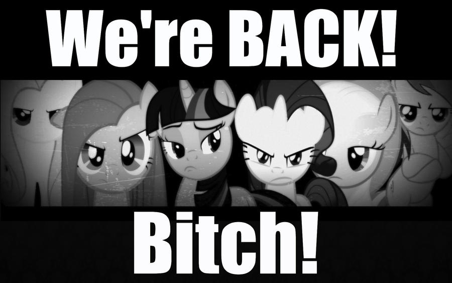 Ponies are back by CelestiasRevenge