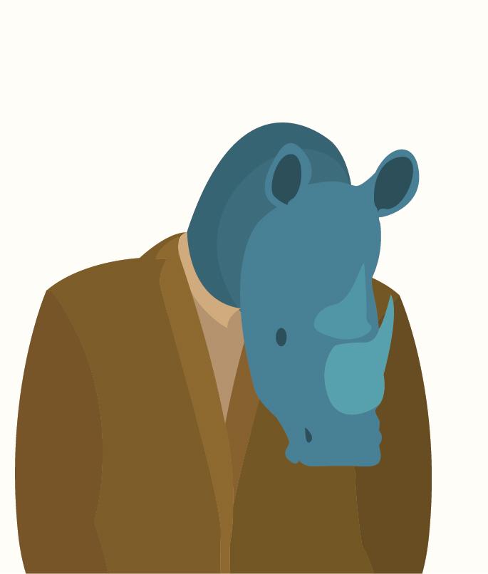 Day 68: Mr Rhino by ysyra