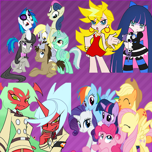 panty n stocking/mlp icon(RQ, without username) by chikarosita99