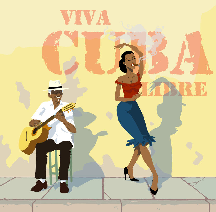 viva cuba libre by rawsharkart