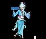 Kimono chrystal. by marshmellowcookies