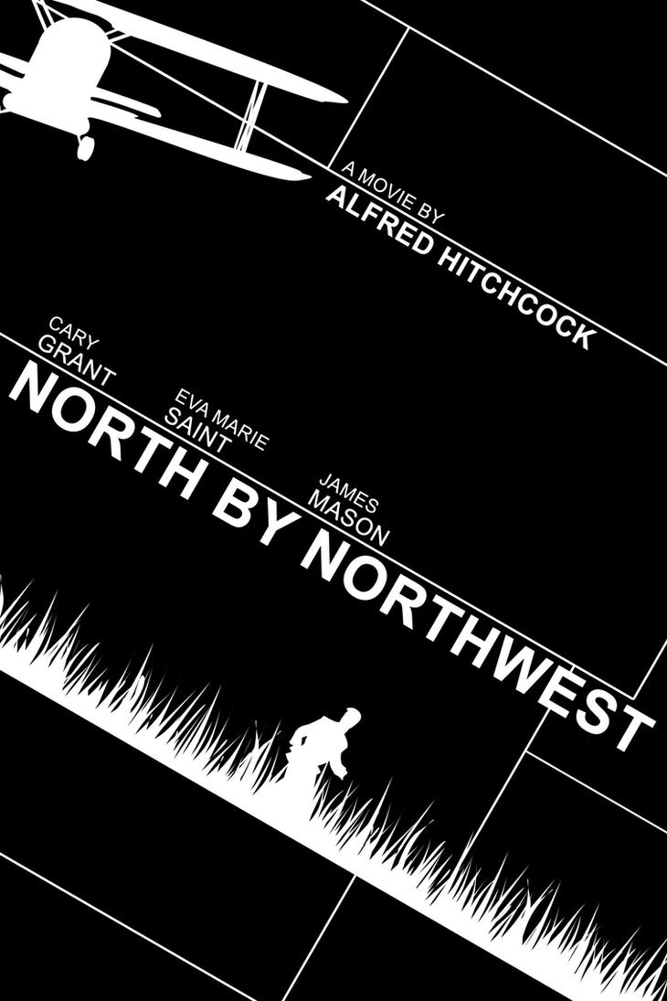 North by Northwest Movie  North By Northwest Minimalist Poster