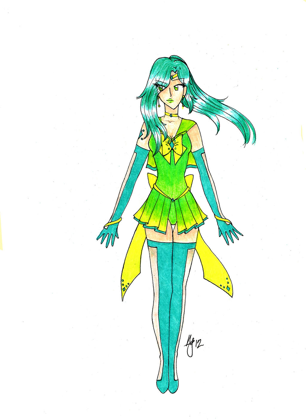 Sailor Rigel-Form Energy by MissLey
