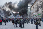 Maidan 22/01/14, Kyiv, Ukraine