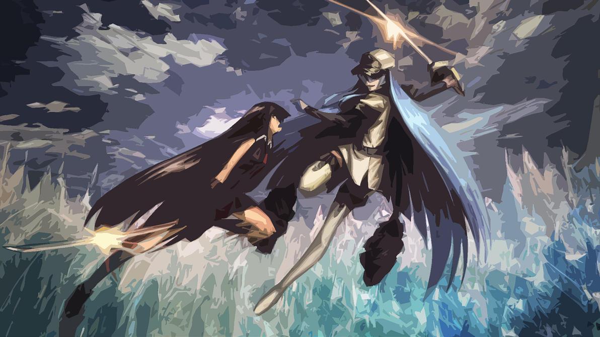 Wallpaper esdeath akame ga kill 4k anime 2604 -  11 Akame Vs Esdeath Wallpaper By Luckysevennn On Deviantart