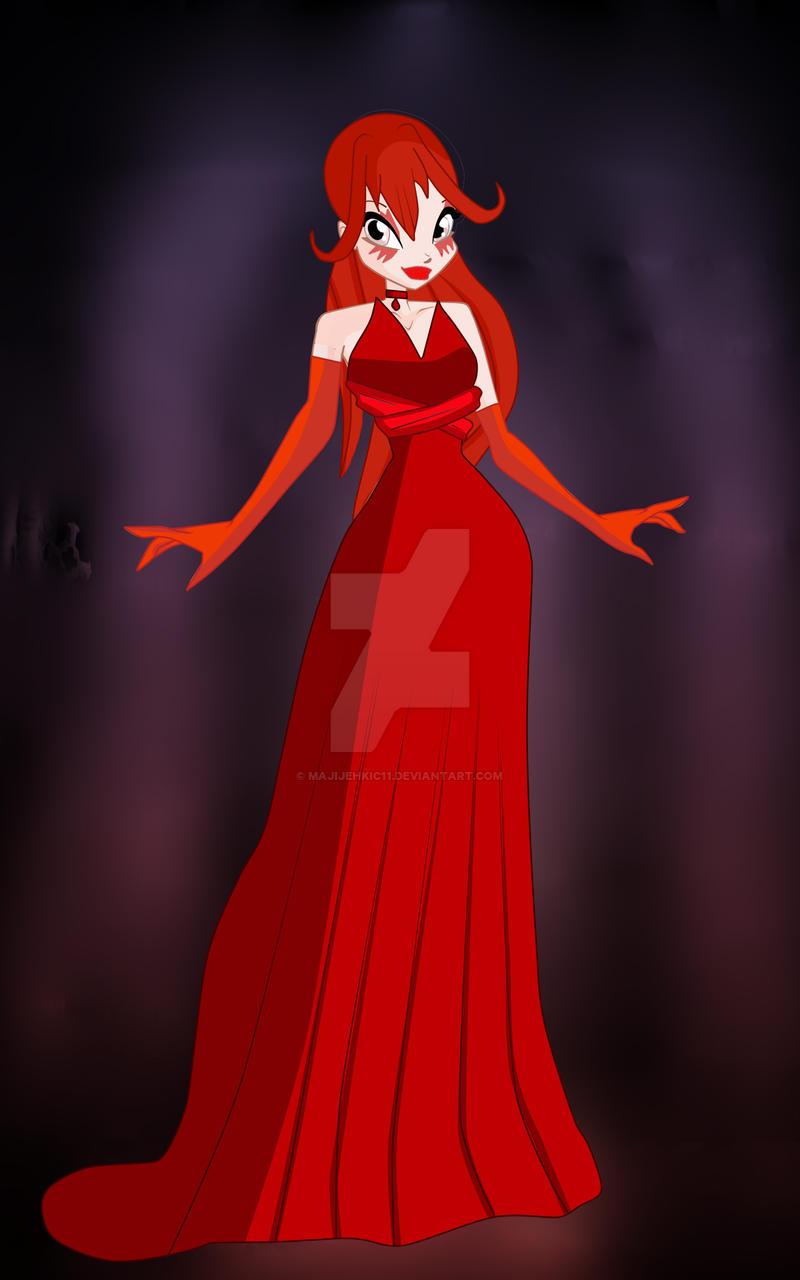 Valory' Night of Evil' dress by majijehkic11