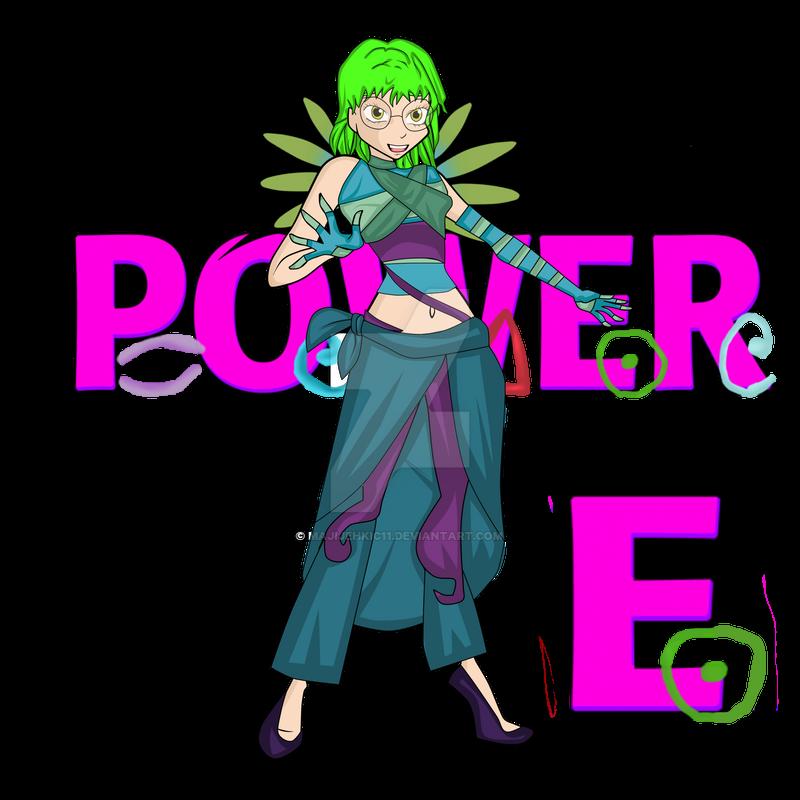 P.O.W.E.R -Elena by majijehkic11